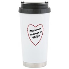 My Heart Belongs to YaYa Travel Mug