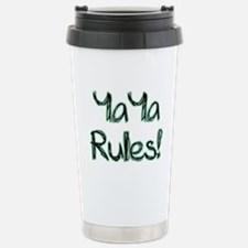 YaYa Rules! Stainless Steel Travel Mug