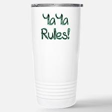 YaYa Rules! Travel Mug