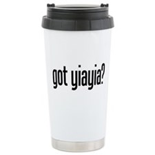 got yiayia? Travel Mug