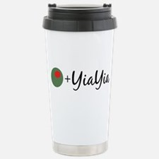 Olive YiaYia Stainless Steel Travel Mug