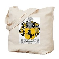 Alessandro Family Crest Tote Bag