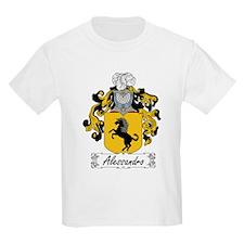 Alessandro Family Crest Kids T-Shirt