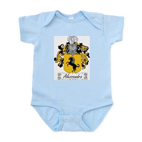Alessandro Family Crest Infant Creeper