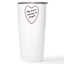 My Heart Belongs to Zayde Ceramic Travel Mug