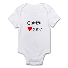 Cute Heart caitlyn Infant Bodysuit