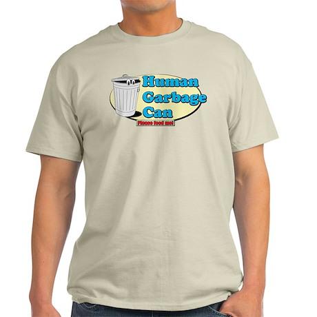 Human Garbage Can Light T-Shirt