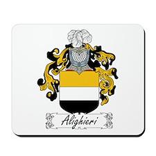 Alighieri Family Crest Mousepad