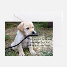 End of your rope Greeting Cards (Pack