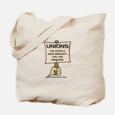 Union Weekends Tote Bag