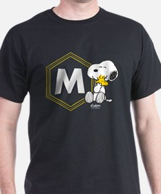Snoopy Woodstock Monogrammed T-Shirt