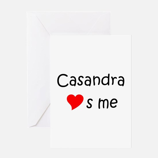 Funny Casandra Greeting Card