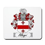 Allegri Family Crest Mousepad