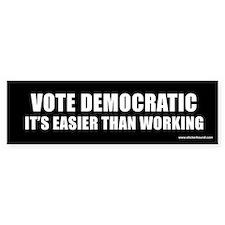 Vote Democratic Bumper Bumper Sticker