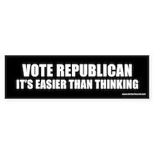 Vote Republican Bumper Bumper Sticker