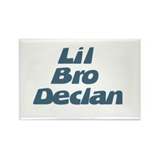 Lil Bro Declan Rectangle Magnet