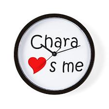 Chara Wall Clock