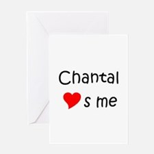 Unique Chanting Greeting Card