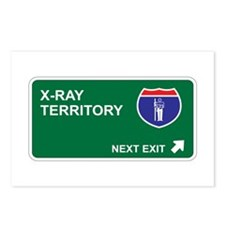 X-Ray Territory Postcards (Package of 8)