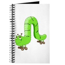 Cute Inch Worm Journal