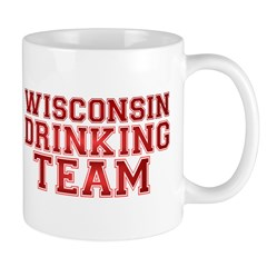 Wisconsin Drinking Team Mug