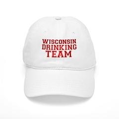 Wisconsin Drinking Team Baseball Cap