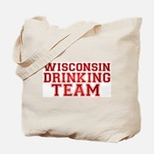 Wisconsin Drinking Team Tote Bag