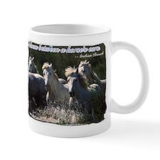 Horses w/ Proverb Mug