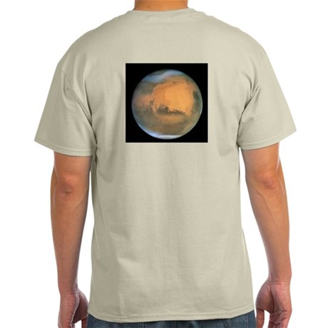 Mars Opposition 2001 Ash Grey T-Shirt
