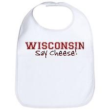 Wisconsin Say Cheese Bib