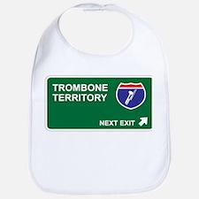 Trombone Territory Bib