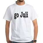 go Juli White T-Shirt