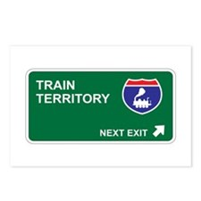 Train Territory Postcards (Package of 8)
