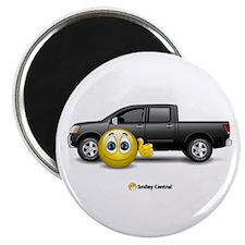 Smiley Truck Magnet