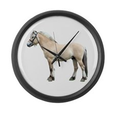 Cute Norske Large Wall Clock