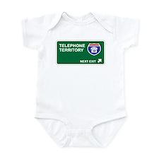 Telephone Territory Infant Bodysuit