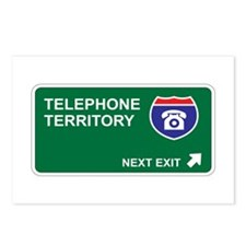 Telephone Territory Postcards (Package of 8)