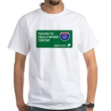 Teaching the, Visually Impaired Territory Shirt