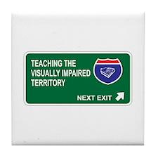Teaching the, Visually Impaired Territory Tile Coa