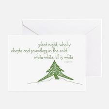 Christmas winter's night haiku Cards Pack of 6)