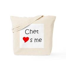Cool Chet Tote Bag