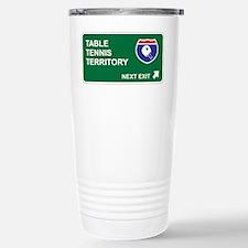Table, Tennis Territory Travel Mug