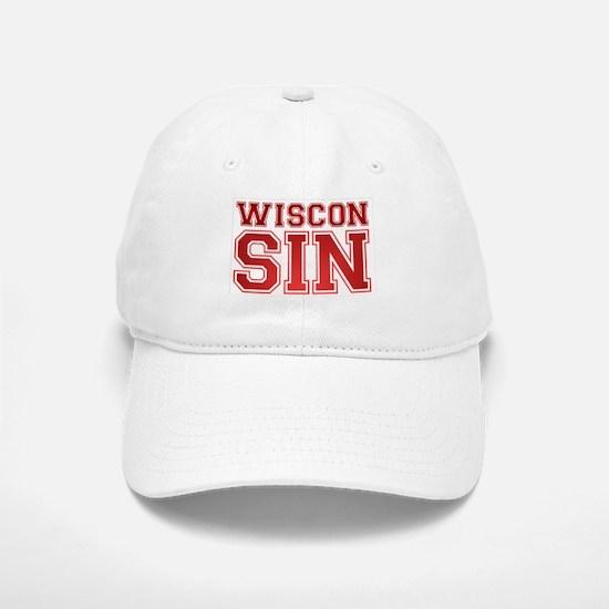 Wiscon SIN Baseball Baseball Cap