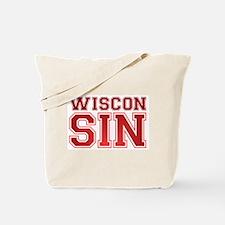 Wiscon SIN Tote Bag
