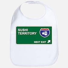Sushi Territory Bib