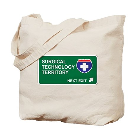 Surgical, Technology Territory Tote Bag