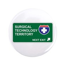 """Surgical, Technology Territory 3.5"""" Button"""