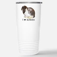 """I love bunnies 1"" Travel Mug"