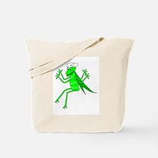 Cute Green Grasshopper Tote Bag
