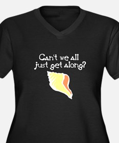 Can't we all just get along? Women's Plus Size V-N